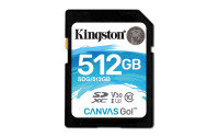 Kingston Canvas Go 512GB SD Card