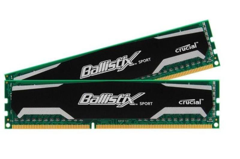 Crucial 8GB DDR3 1600Mhz Ballistix Sport  Memory
