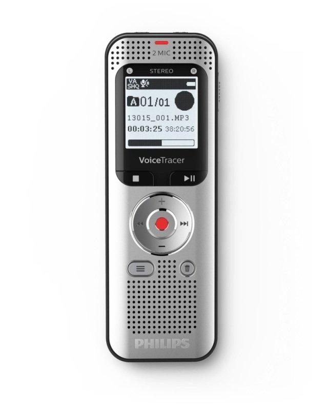 Philips DVT2050 Voice Tracer Audio Recorder