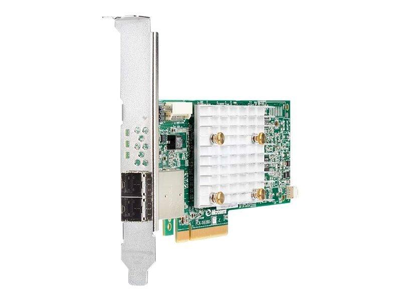 HPE Smart Array P408e-p SR Gen10 (8 External Lanes/4GB Cache) 12G SAS PCIe Plug-in Controller
