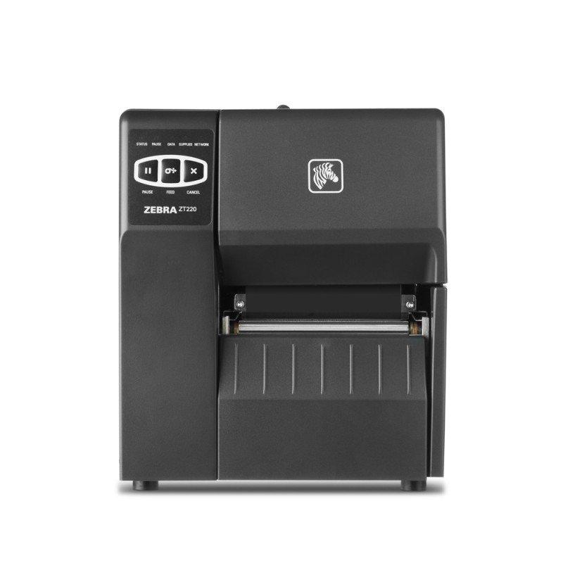 Zebra ZT220 DT/TT Printer - 203dpi - USB - Serial - Ethernet