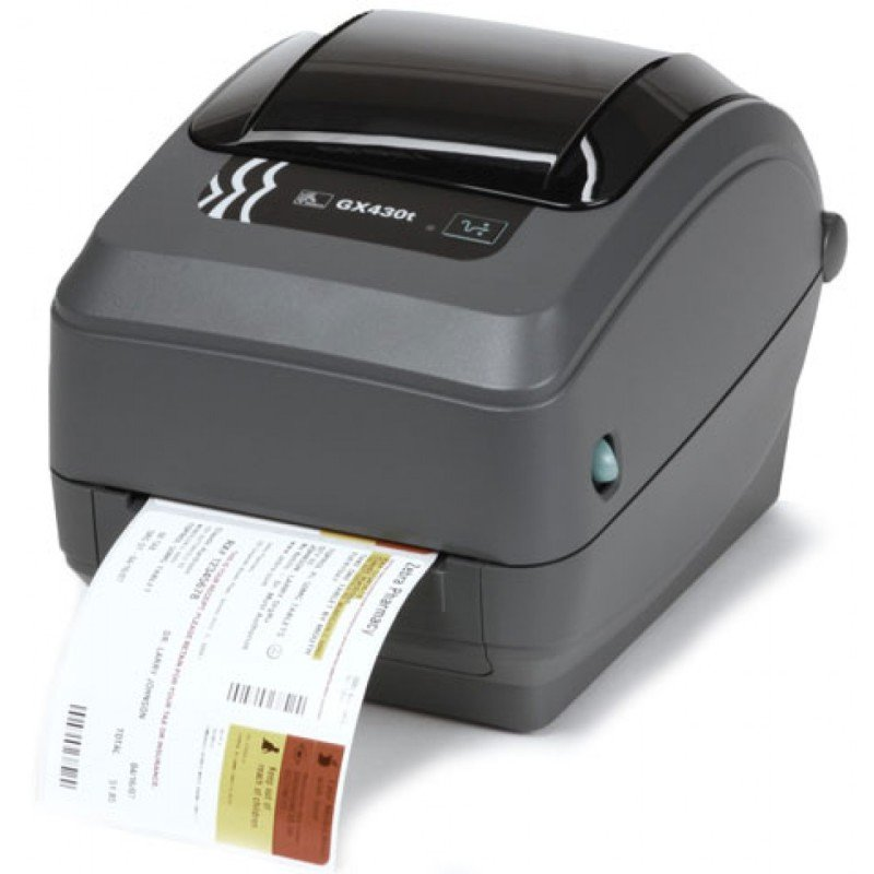 Zebra GX430t TT Printer- 300dpi - Cutter