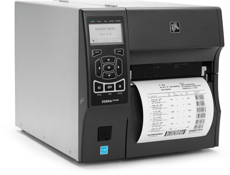 Zebra ZT400 Series Label Printer - 203dpi