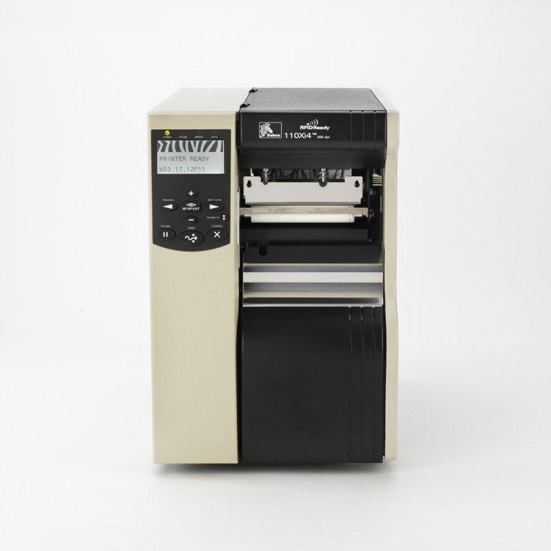 Zebra 110Xi4 DT/TT Printer-  600dpi & Usb Rew.w. Peel In
