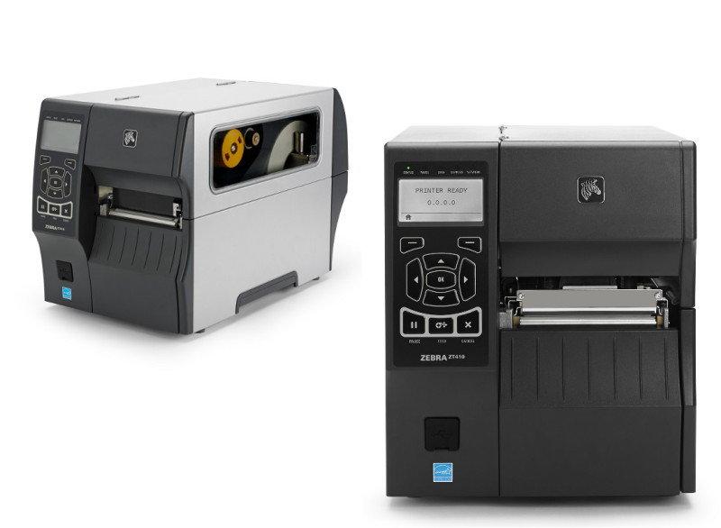 Zebra ZT410 DT/TT Printer - 600 DPI - Rewind Peel