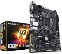Gigabyte B360M HD3 LGA 1151 DDR4 mATX Motherboard