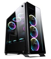 Sahara P35 Mid Tower Cases with 4 RGB Fans