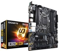 Gigabyte B360M D3H LGA 1151 DDR4 mATX Motherboard