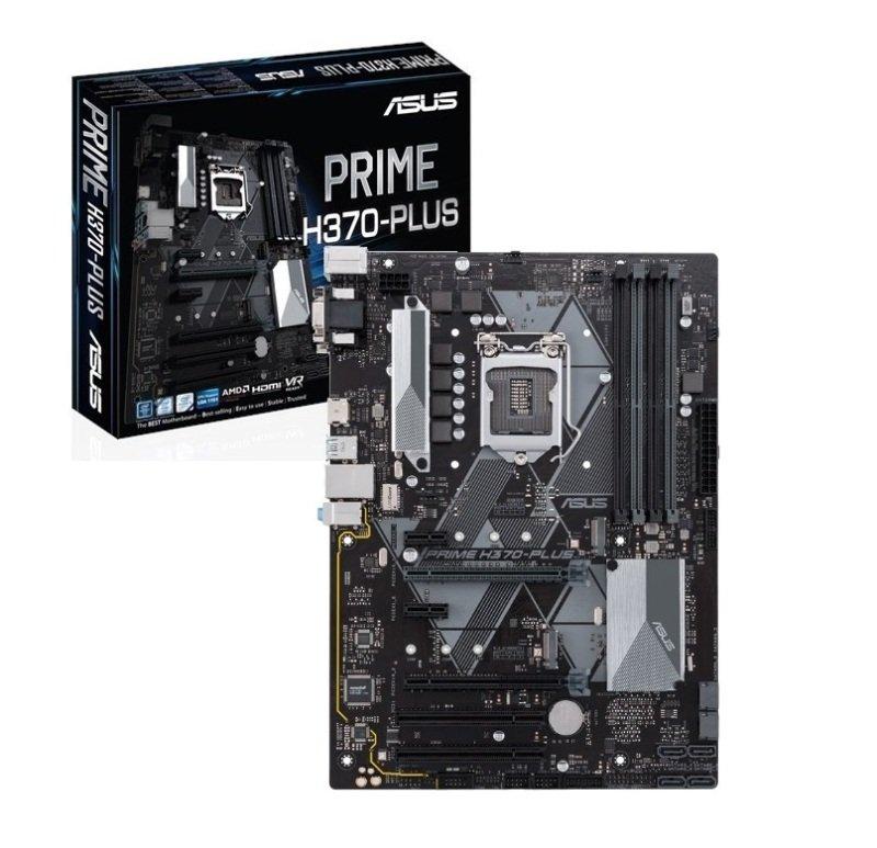 Asus PRIME H370-PLUS LGA 1151 DDR4 ATX Motherboard