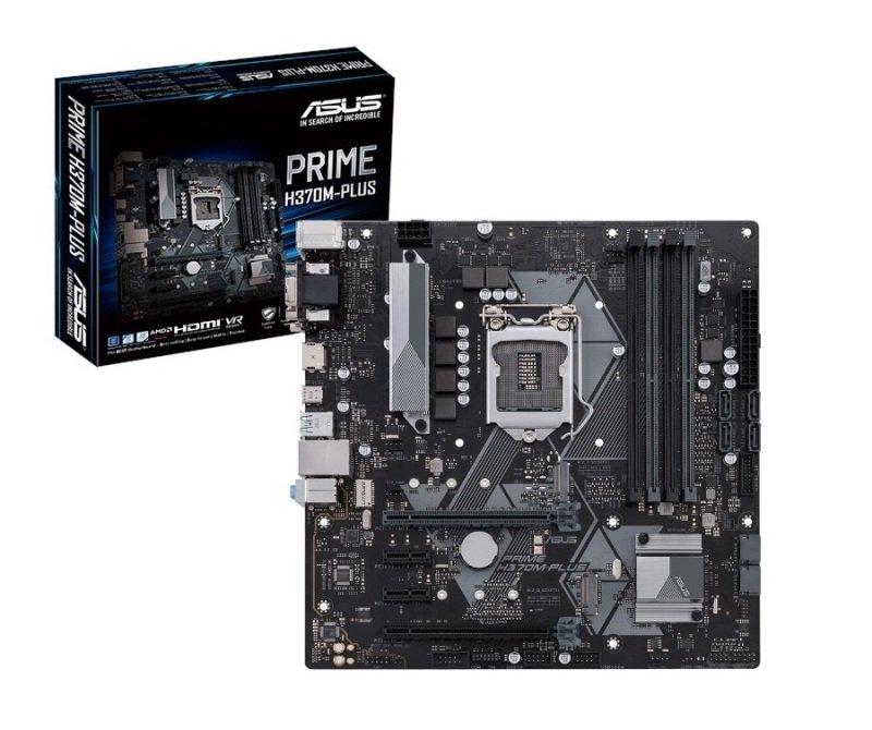 Asus PRIME H370M-PLUS LGA 1151 DDR4 mATX Motherboard