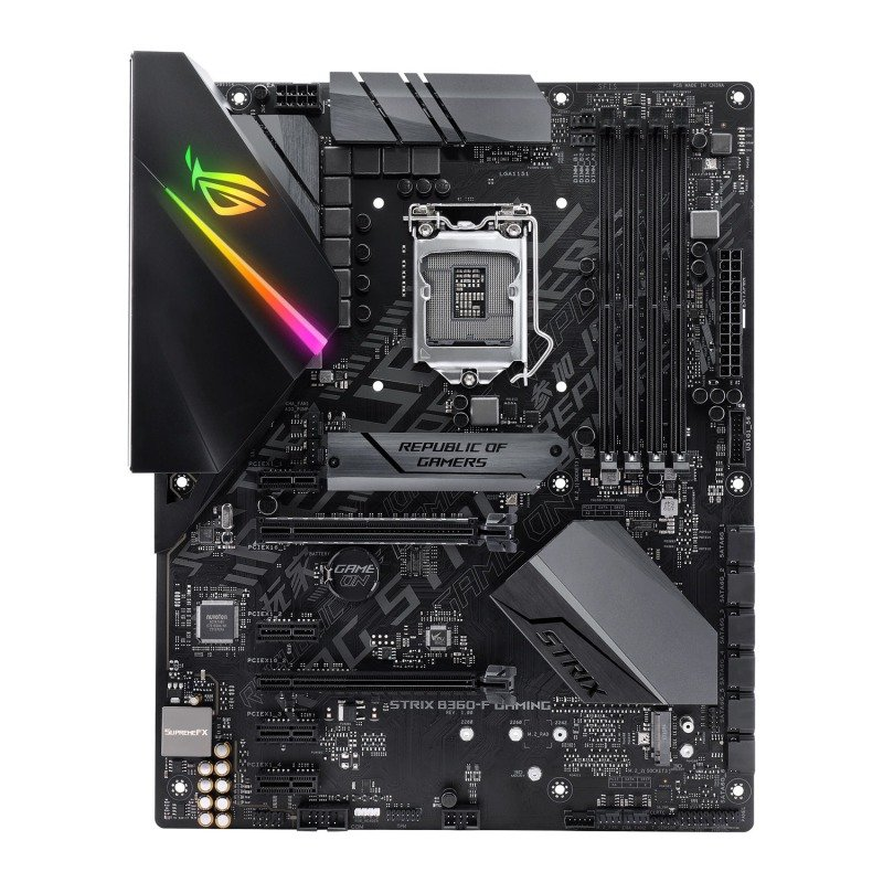 Asus ROG STRIX B360-F GAMING LGA 1151 DDR4 ATX Motherboard