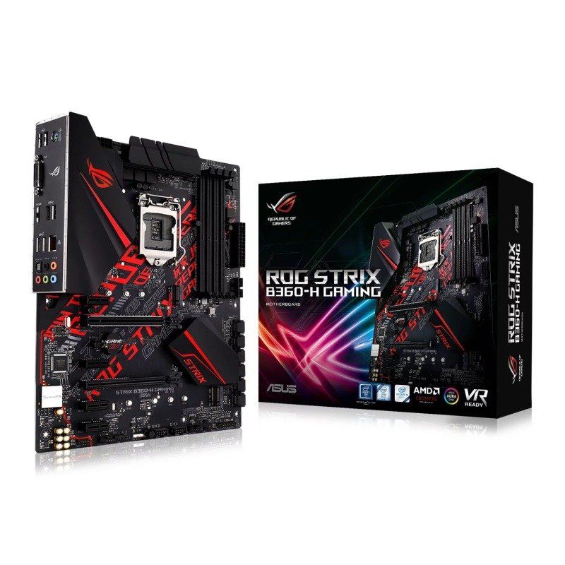 Asus ROG STRIX B360-H GAMING LGA 1151 DDR4 ATX Motherboard