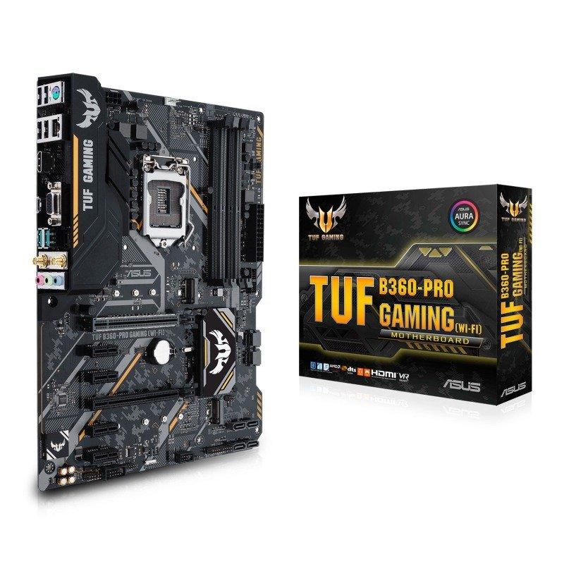Asus TUF B360-PRO GAMING LGA 1151 DDR4 ATX Motherboard