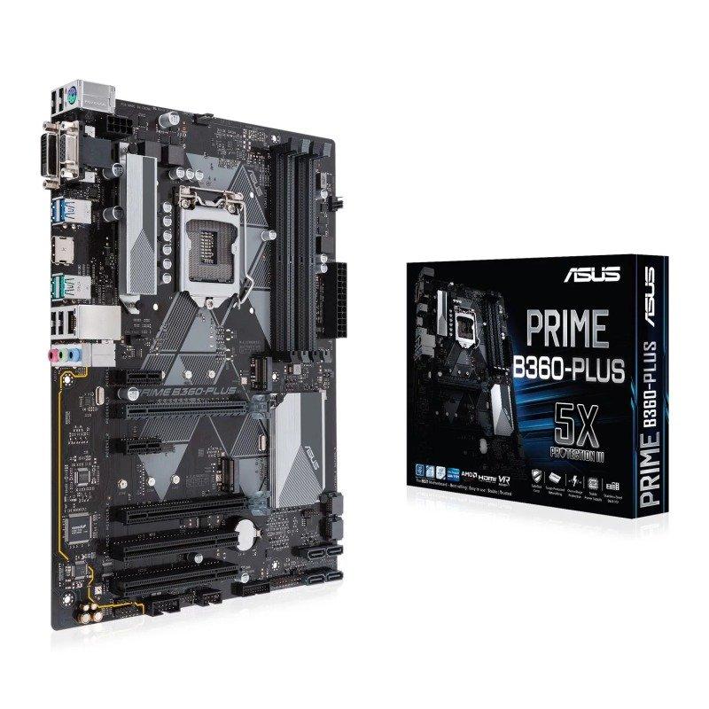 Asus PRIME B360-PLUS LGA 1151 DDR4 ATX Motherboard