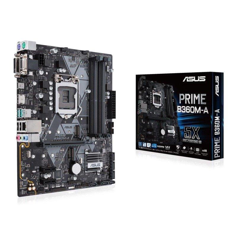 Asus PRIME B360M-A LGA 1151 DDR4 mATX Motherboard