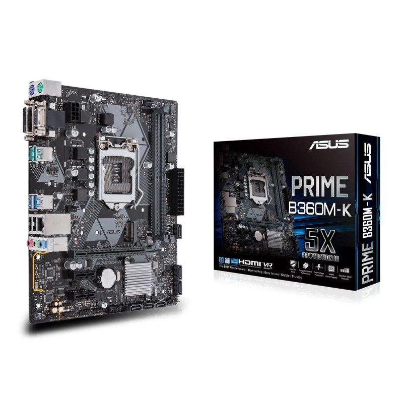 Asus PRIME B360M-K LGA 1151 DDR4 mATX Motherboard