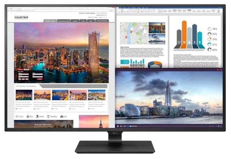 """LG 43UD79-B 43"""" Class 4K UHD IPS LED Monitor"""