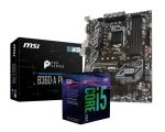 MSI B360-A PRO Motherboard with i5-8400 Processor Bundle