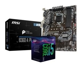MSI B360-A PRO Motherboard with i5-8400 Processor Bundle...