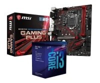 MSI B360M GAMING PLUS Motherboard with i3-8100 Processor Bundle
