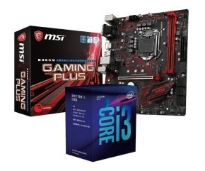 MSI B360M GAMING PLUS Motherboard with i3-8100 Processor...