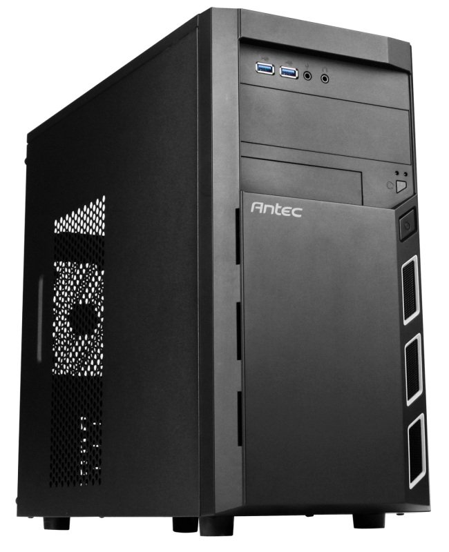 Antec VSK 3000 Elite Case Micro-ATX Micro Tower Case