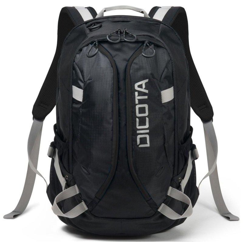 DICOTA Backpack ACTIVE XL 15-17.3 black/black