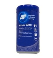 AF Isoclene Pre Saturated Wipes - Pack of 100