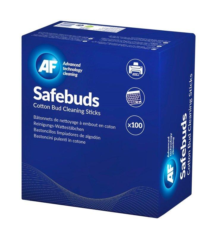 AF Safebuds Cotton Bud Sticks - 10 Pack