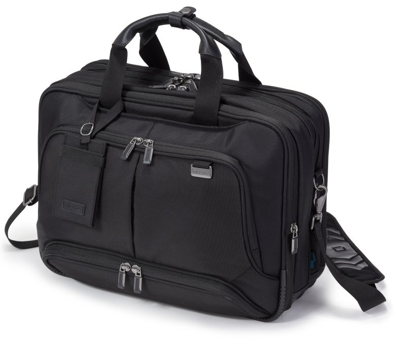 DICOTA Top Traveller Twin PRO Laptop Bag 15.6 Black