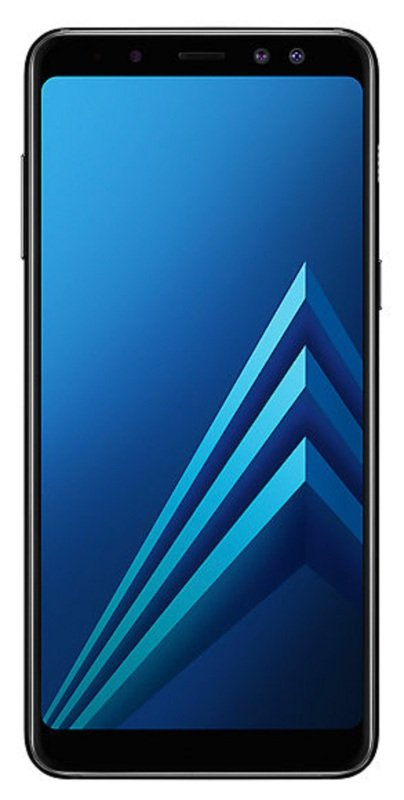 "Samsung A8 5.6"" sAMOLED 32GB Android Smartphone - Black"