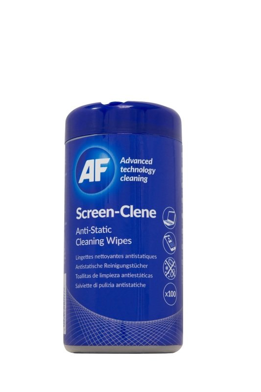 AF Screen-Clene Cleaning Wipes (100 Pack)