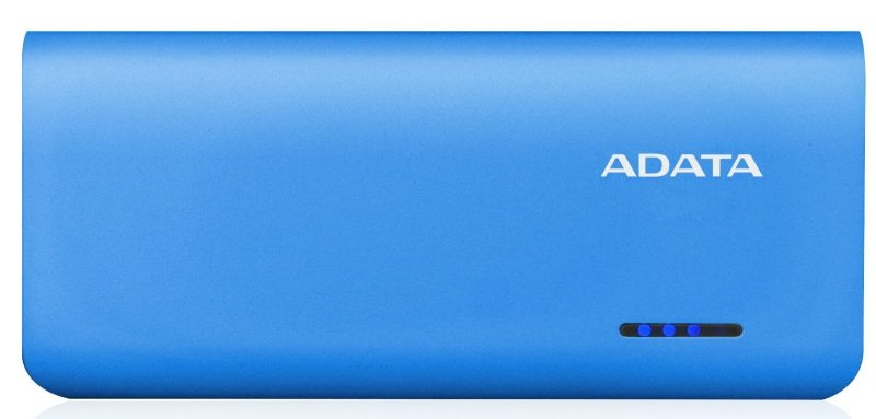 ADATA PT100 Power Bank Blue and White