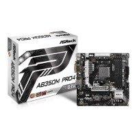 EXDISPLAY ASRock AMD Ryzen AB350M Pro4 AM4 mATX Motherboard