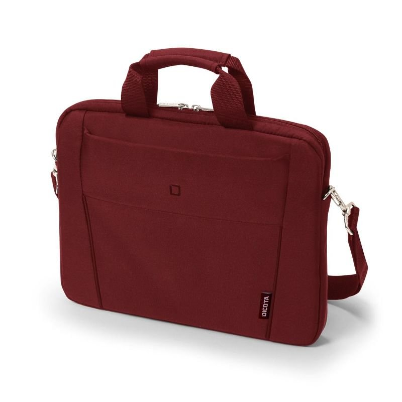 DICOTA Slim Case BASE Laptop Bag 12.5 Red.