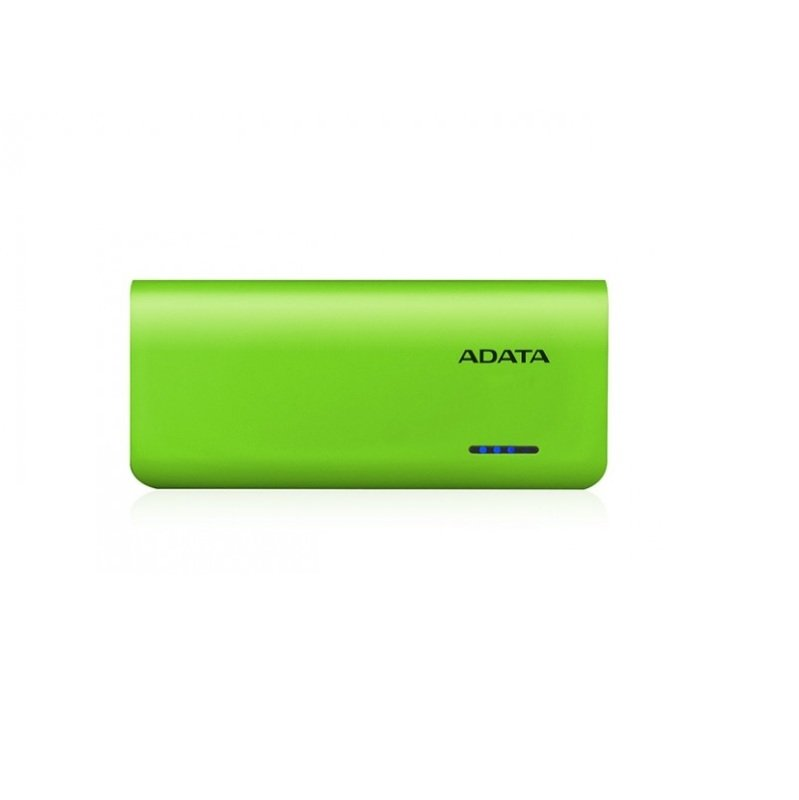 ADATA PT100 Power Bank Green and Yellow