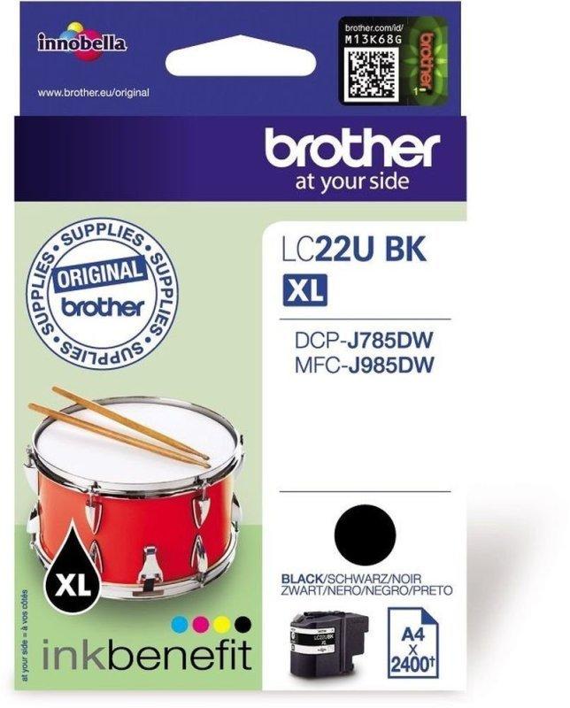 Brother Dcpj785dw/mfcj985 Black Ink Cartridge