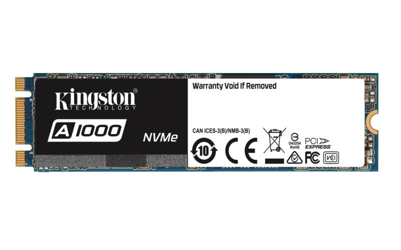 Kingston A1000 480GB M.2 SSD