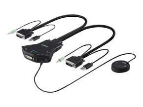 Belkin Secure Flip DVI-D KVM Switch
