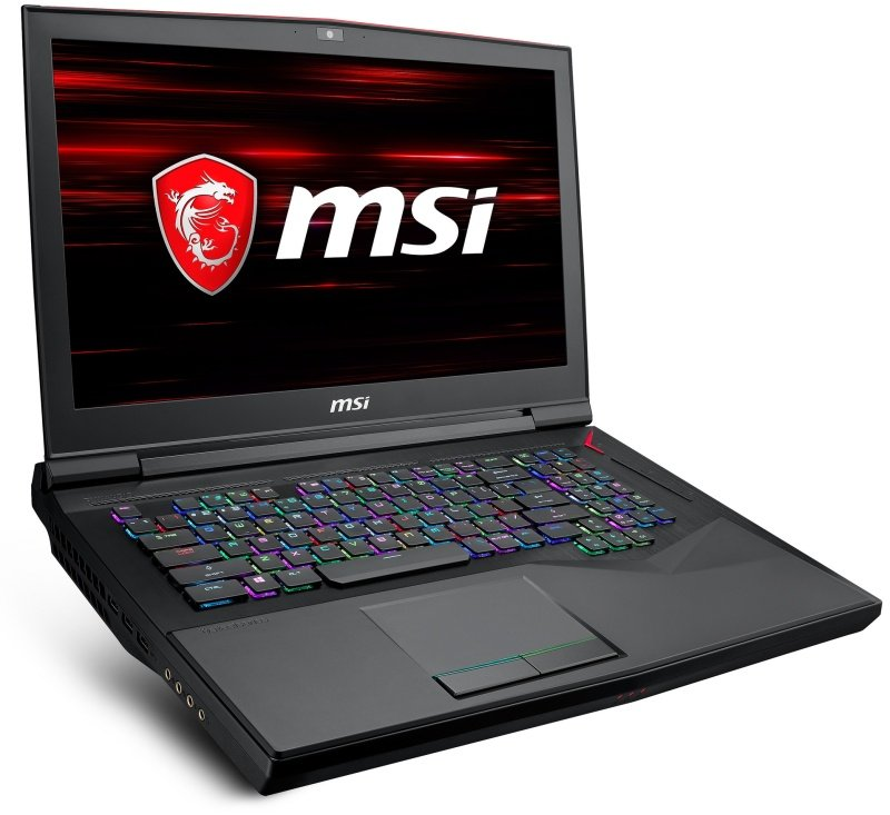 MSI GT75 Titan 8RF-200UK 1070 Gaming Laptop, Coffeelake Intel Core i7-8850H 2.6GHz, 32GB RAM, 512GB SSD, 1TB HDD, 17.3 UHD 3840x2160, No-DVD, NVIDIA GTX 1070 SLI 8GB, WIFI, Windows 10 Home Ultra