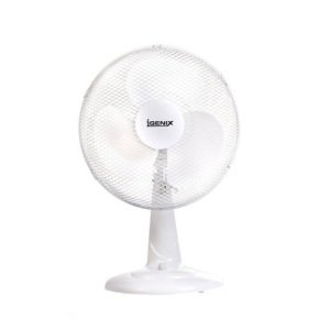 Igenix DF1210 Portable Fan, 12-Inch, 35 W - White