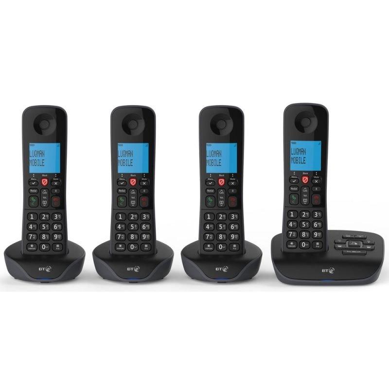 BT Essential Phone - Four Handsets