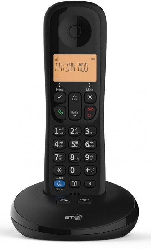 BT Everyday Phone with Answer Machine - One Handset