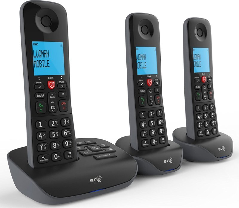 BT Essential Phone - Three Handsets