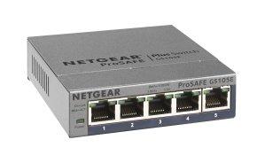 Netgear ProSAFE 5-Port Gigabit Unmanaged Plus Switch