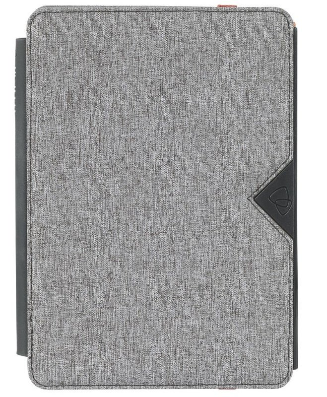 techair Eazy Stand Universal - Flip cover for tablet - textured polyester - grey