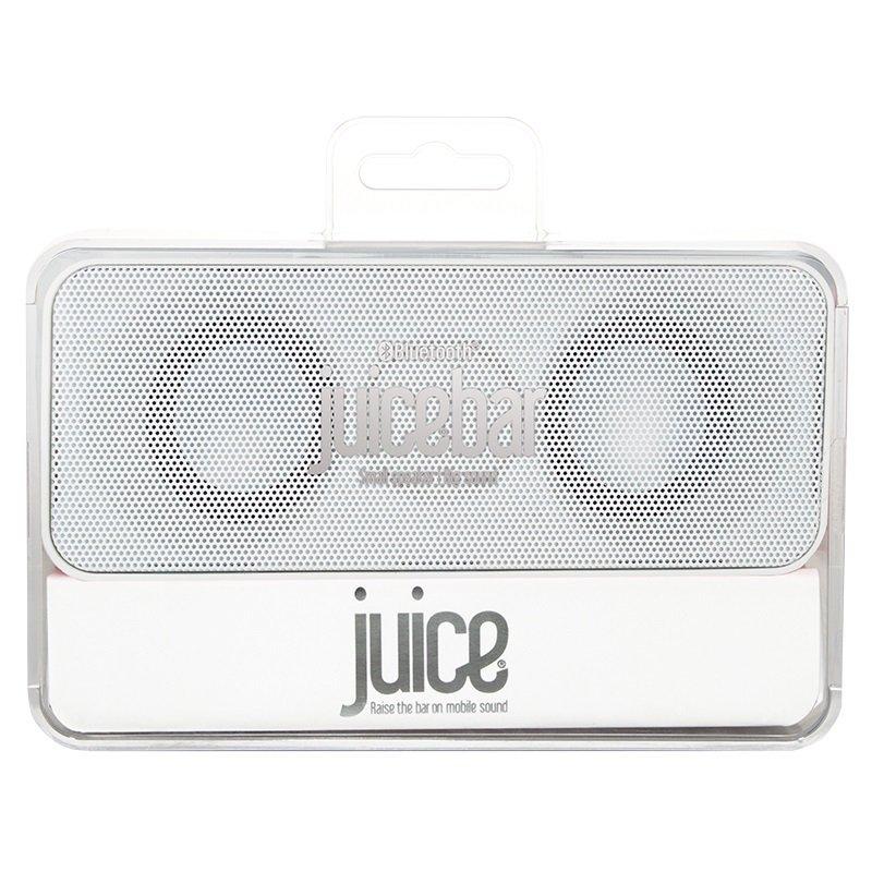 Juice Bar Bluetooth Speaker White