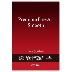 Canon Premium Fine Art Smooth A3 Plus Paper (25 Pack)