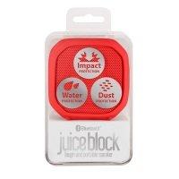 Juice Block Bluetooth Speaker Red