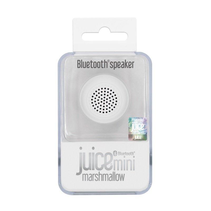 Juice Mini Mallow Bluetooth Speaker White